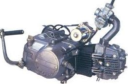 фото двигателя мотоцикла 125 см3